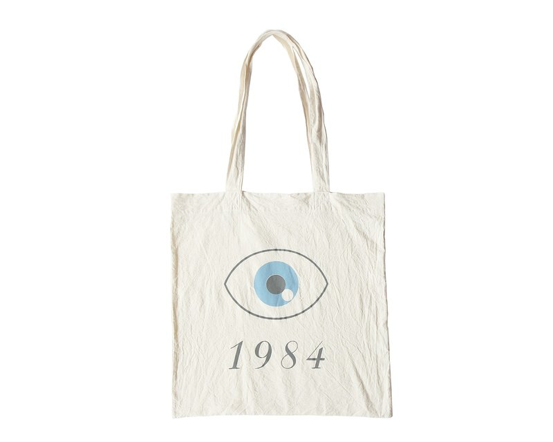 Super Soft Cotton Tote Bag - 1984 George Orwell