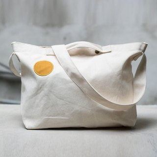 Small days canvas warm sun bag _ primary color