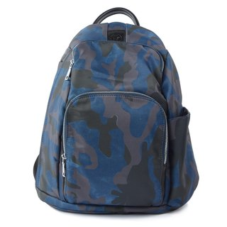 FUGUE Origin Smart Anti-Theft Backpack - Spain Travel Anti-Theft - Camouflage Blue