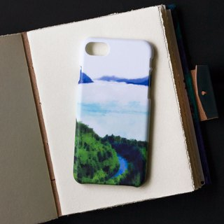 Lake with skyline. Matte Case (iPhone, HTC, Samsung, Sony)