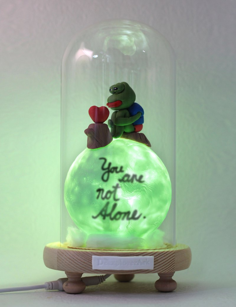 Pepe frog planet whisper lamp, the most intimate gift, character series