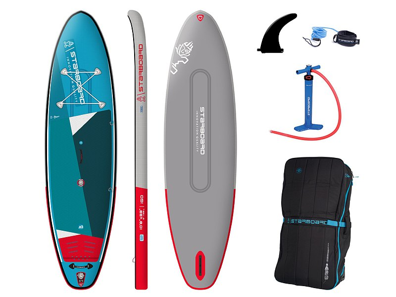 iGO SUP streamlined technology ZEN inflatable paddle board