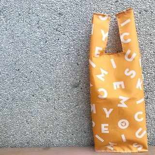Eco bag - drink bag / food bag / multi-function bag letter
