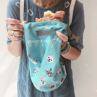 Adc party animal Rollneat grabngo food bag breakfast bag takeaway bag takeaway bag