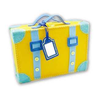 Fairy Land [material kit] go travel suitcase together - yellow