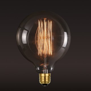 Good Form‧ Good Shape │ Vintage ‧ Tungsten Bulb ‧ Large Bubble (A) Bulb