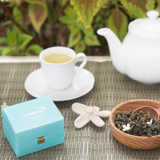 Scent of a Woman (Alishan Mountain Jin Xuan Tea) - jewelry box - loose tea 50g [HERDOR mountain tea]