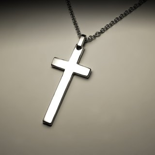 Great sleek cross necklace