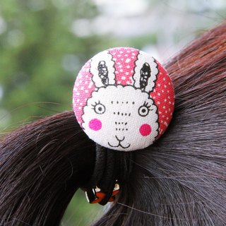 Green wind cute animal hair bag buckle ~ love black hair bundle elastic rope hair ring black bracelet tied personal practical exchange gift