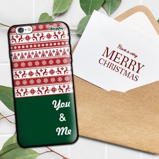"""Different Christmas"" custom mobile phone case"