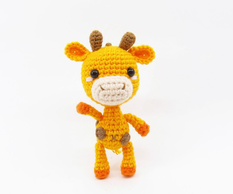 長頸鹿-鑰匙圈-吊飾