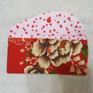 Flower cluster group View elegant New Year red envelopes *