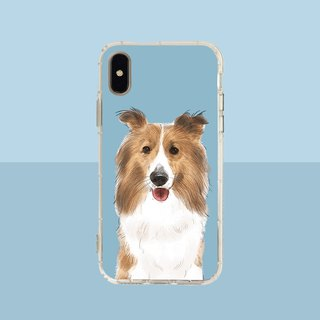 Big face joy embossed air shell - iPhone / Samsung, HTC.OPPO.ASUS original pet phone case