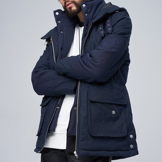 Quilted double warm jacket 8507