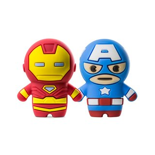 Bone / Marvel Driver Flash Drive 3.0 (16G) - Captain America / Iron Man [Supports USB 3.0 High Speed ​​Transmission]
