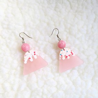 Powder of Mount Fuji / Earrings