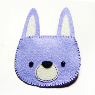 Hairpin - Rabbit (Blue Violet) Julie Handmade