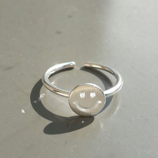 Classic Smile 925 Sterling Silver Ring Activity