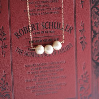 Happy Glossy Cotton Pearl │ Japanese Imported Cotton Pearl Necklace