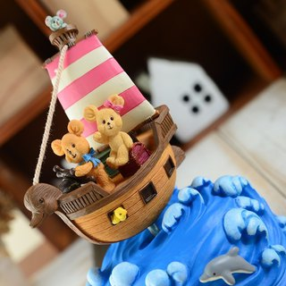 Dream sailing music box Hayao Miyazaki Hermit girl Valentine's Day birthday presents home decorations