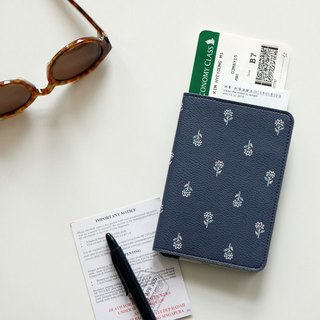 Dailylike-beautiful life leather passport cover -04 hydrangea, E2D42260