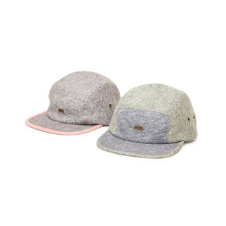 Filter017 Color Matching Woolen 5-Panel Cap  拼色雪花五分割帽