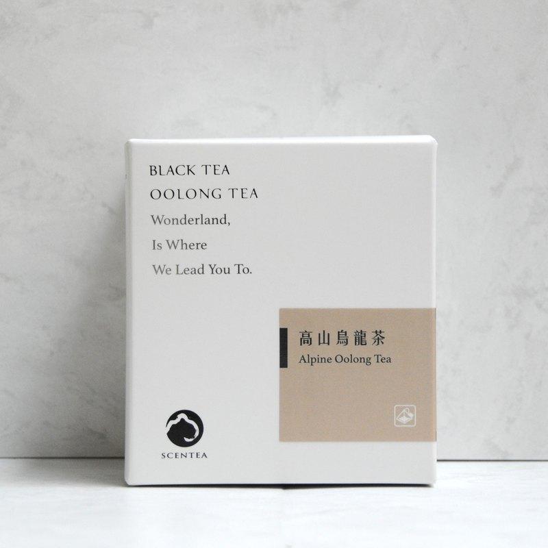 軒汀SCENTEA - 高山烏龍 立體袋茶