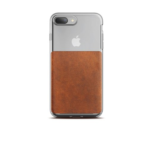 US NOMADxHORWEEN iPhone 8/7 Plus Transparent Back Cover Leather Fall Protection Case (855848007175)