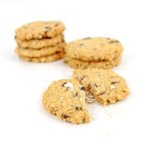 Gluten-Free Rice Crackers - Oat Cranberry Rice Crackers