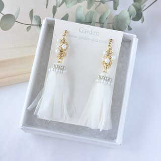 fusako earrings champagne