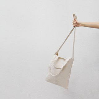 2 way canvas bag.