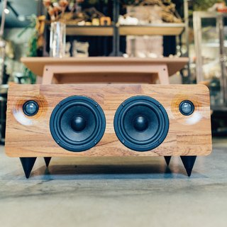 MINFORT|MIN7: The Multi-function Handmade Wooden Speaker (Teak)