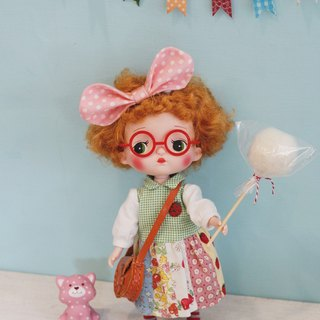 Holala doll with cotton candy photo accessories a set of two colors a prop with non-food items