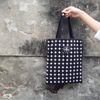 toutoubags/ canvas bag-pop style dot