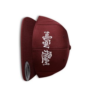 Taiwan Formosa Vintage Cap - Dark Red