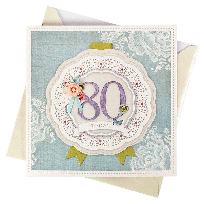 壽比南山-80歲生日【Hallmark-卡片 生日祝福】
