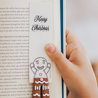 Gingerbread Man legs from authentic MYBOOKMARK