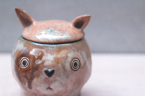 Tao Tao cat head secrets - brown