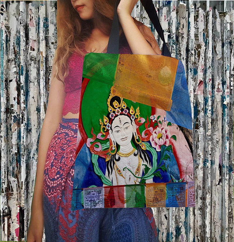 Bless you soul Handmade Unisex Tote Bag