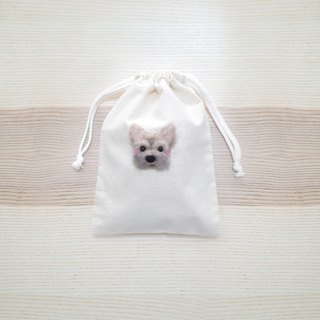 [Q-cute] small bundle pocket series - dog head custom
