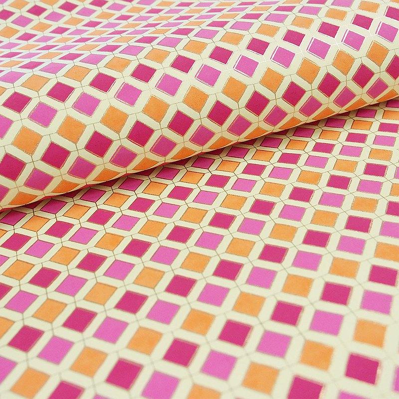 Shizen 紅花磚 手工包裝紙