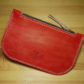 Leather Purse Leather purse red player