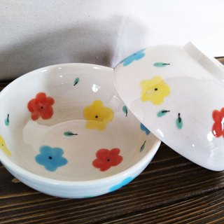 Color Flower Bowl