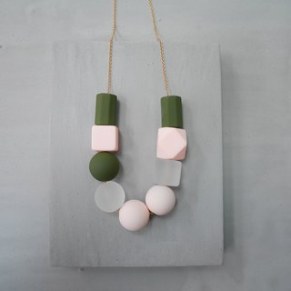 Marshmallow Necklace - PING PONG 007