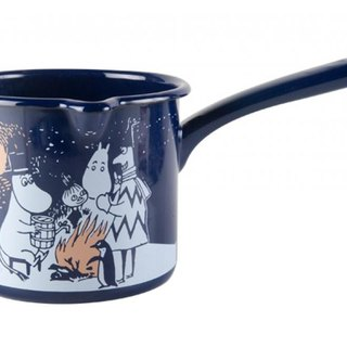 Finland Muurla Moomin handle one pot / pot noodles / sauce pan / Christmas Gifts (2016 winter limited edition)