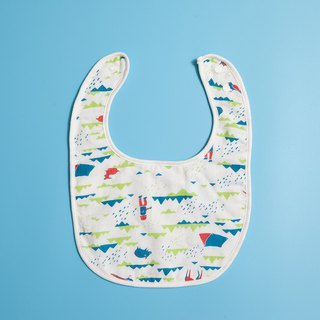 Baby Bib / Trekking / Energy Red & Blue