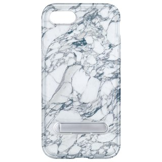 White marble hidden magnet bracket iPhone 8 7 6 plus mobile phone case mobile phone case