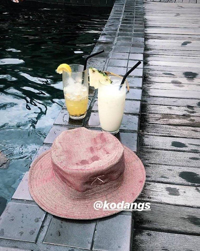 5e65a4f15f85 Thai adventure hat - cream FLIPPABLE - Designer Kodangs