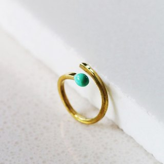 Green Match Ring / Linen Jewelry / Fun Jewelry / Everyday Jewelry / Fashion Rings / Rings.