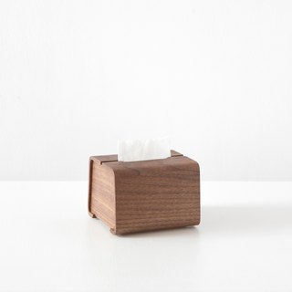 Tetrad Handmade Wooden Carton T | Walnut